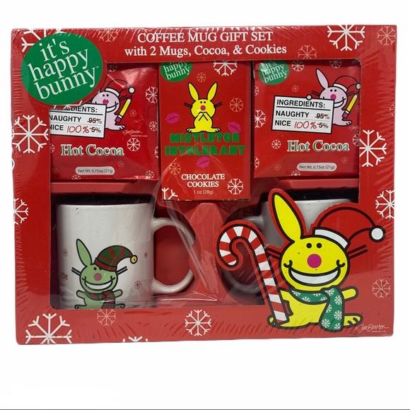 Happy Bunny 2008 Mug Christmas Gift Set